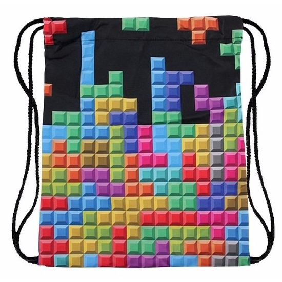 Festival tasje tetris blokjes