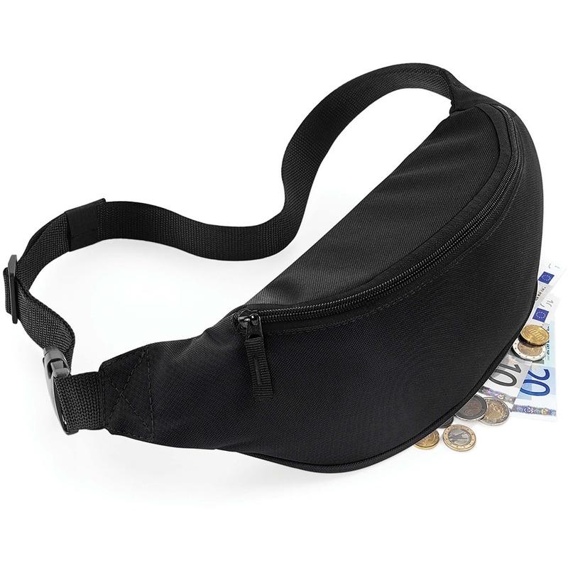 Reistasjes verstelbaar zwart 38 cm
