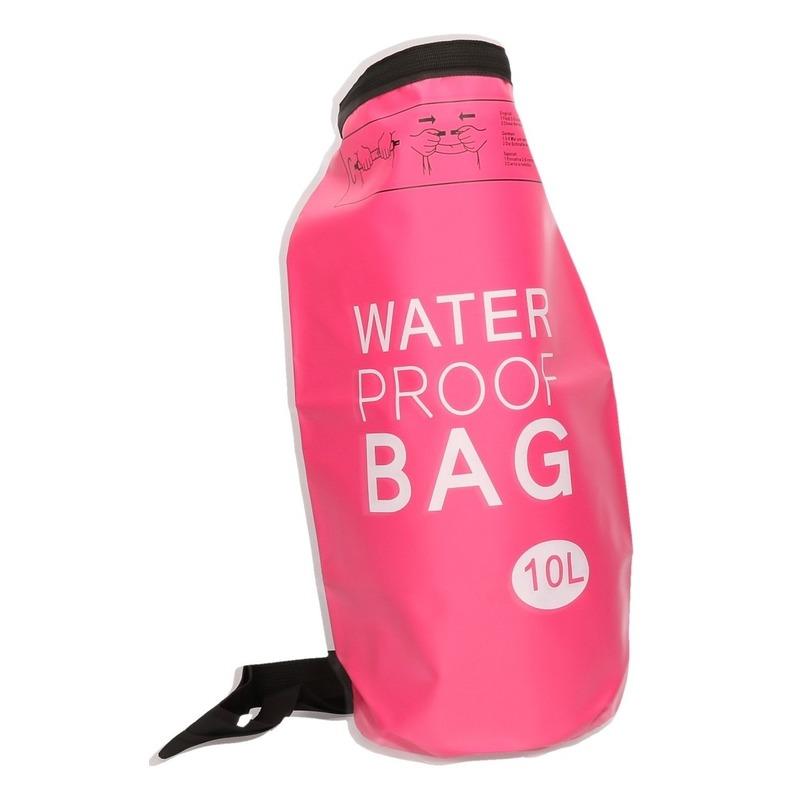 Tassen Roze waterdichte tas 10 liter