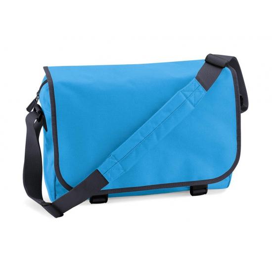 Schooltassen blauwe schoudertas 11 l