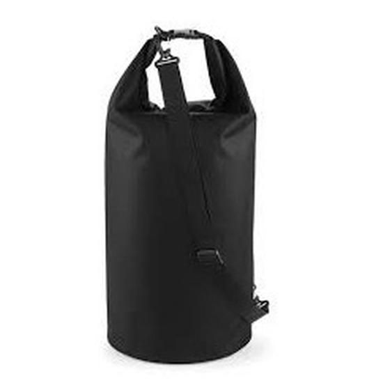 Geen Strandtas drytube 40 liter zwart 30 x 55 cm Tassen