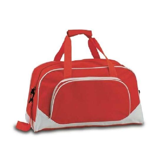 Weekend tas kobalt rood