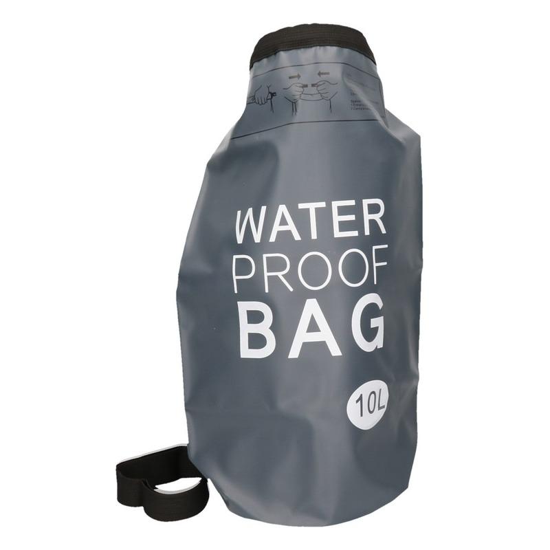 Tassen Geen Zwarte waterdichte tas 10 liter